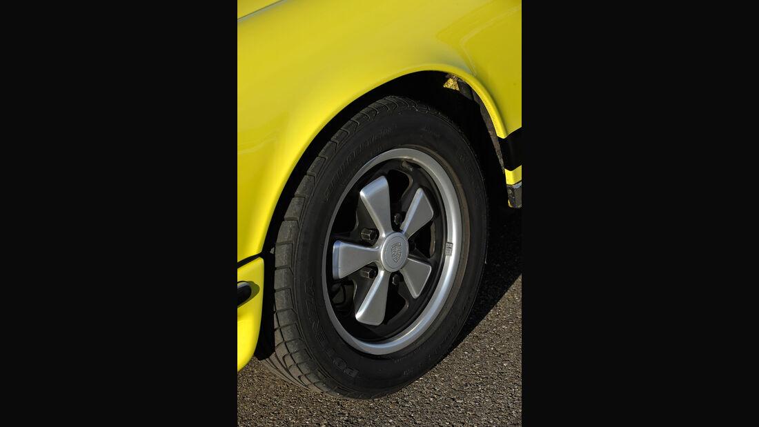 Porsche Carrera RS 2.7, Reifen, Felge