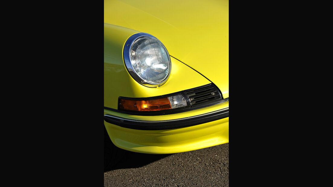 Porsche Carrera RS 2.7, Scheinwerfer