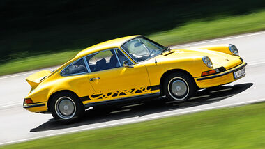 Porsche Carrera RS 2.7, Seitenansicht