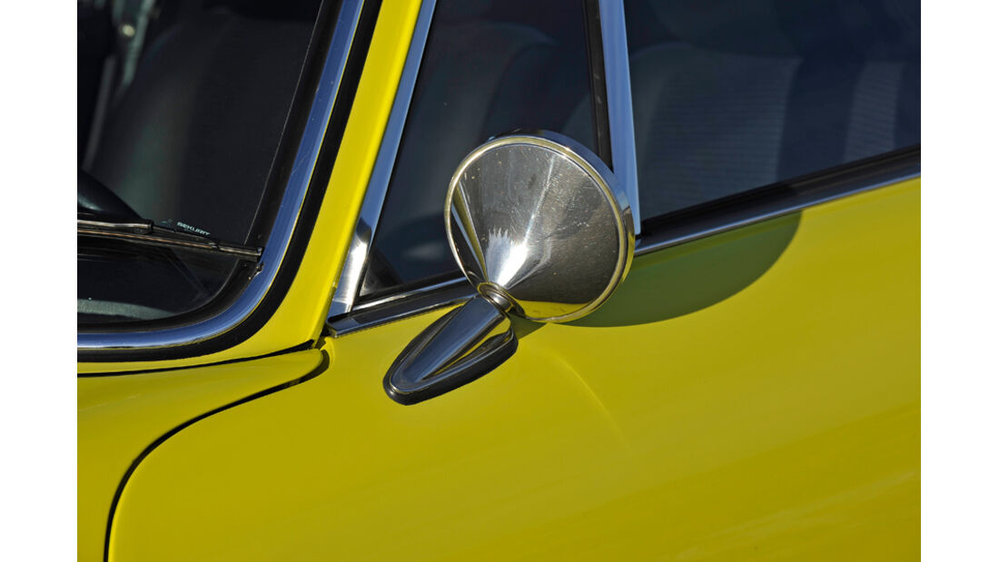 Porsche Carrera RS 2.7, Seitenspiegel