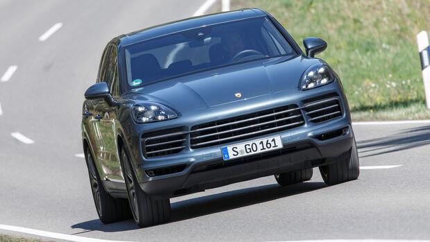 Porsche Cayenne Basismodell Fahrbericht 2019