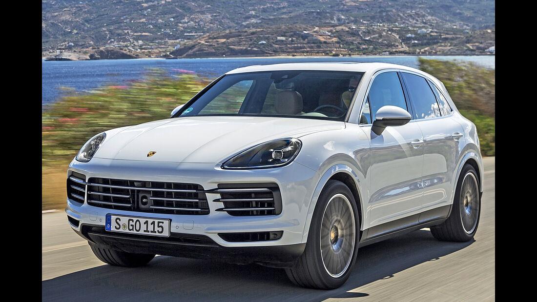 Porsche Cayenne, Best Cars 2020, Kategorie K Große SUV/Geländewagen