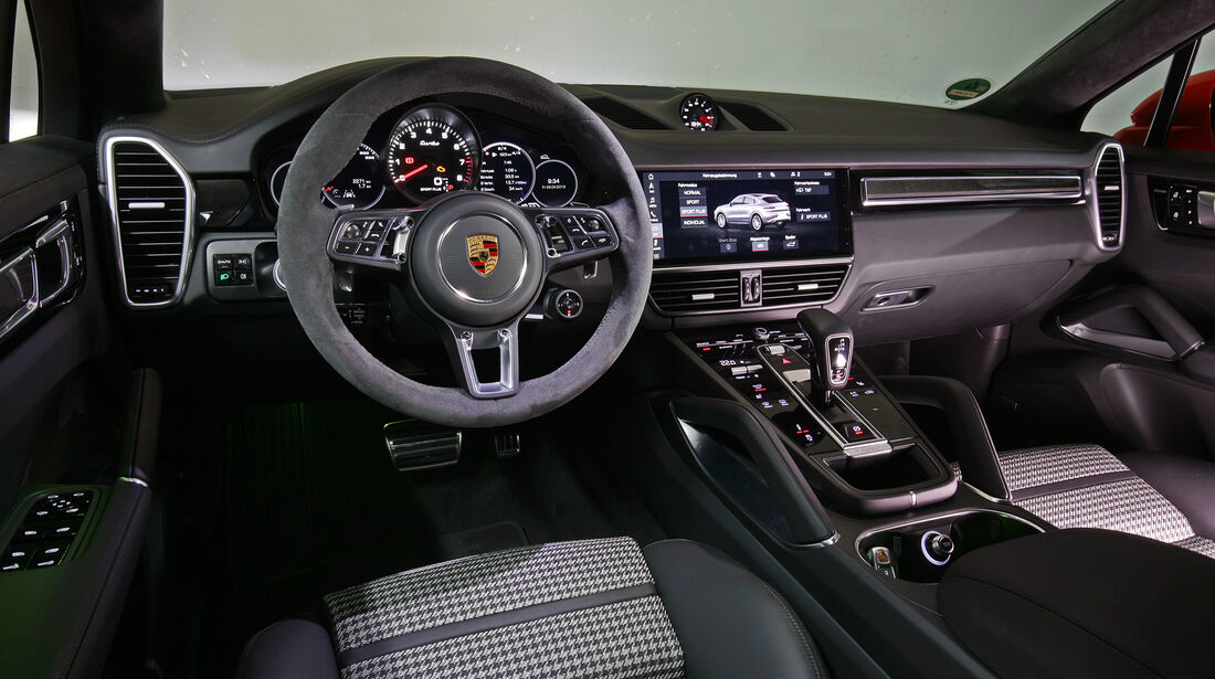 Porsche Cayenne Coupé Armaturenbrett