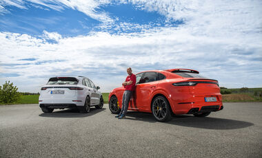 Porsche Cayenne Coupé Exterieur Heck