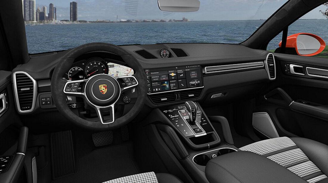 Porsche Cayenne Coupé, Konfigurator