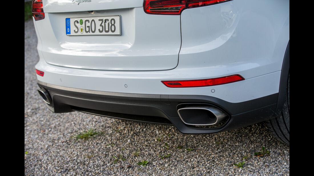 Porsche Cayenne Diesel, Auspuff, Endrohr