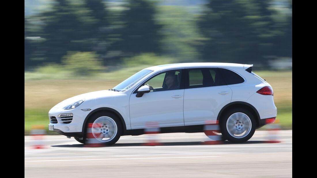 Porsche Cayenne Diesel, Bremstest