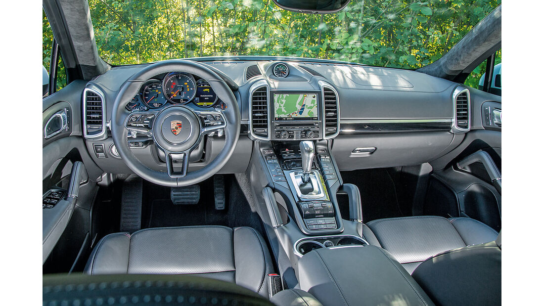 Porsche Cayenne Diesel, Cockpit