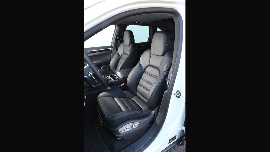 Porsche Cayenne Diesel, Fahrersitz
