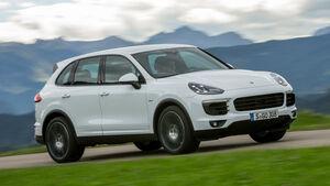 Porsche Cayenne Diesel, Frontansicht