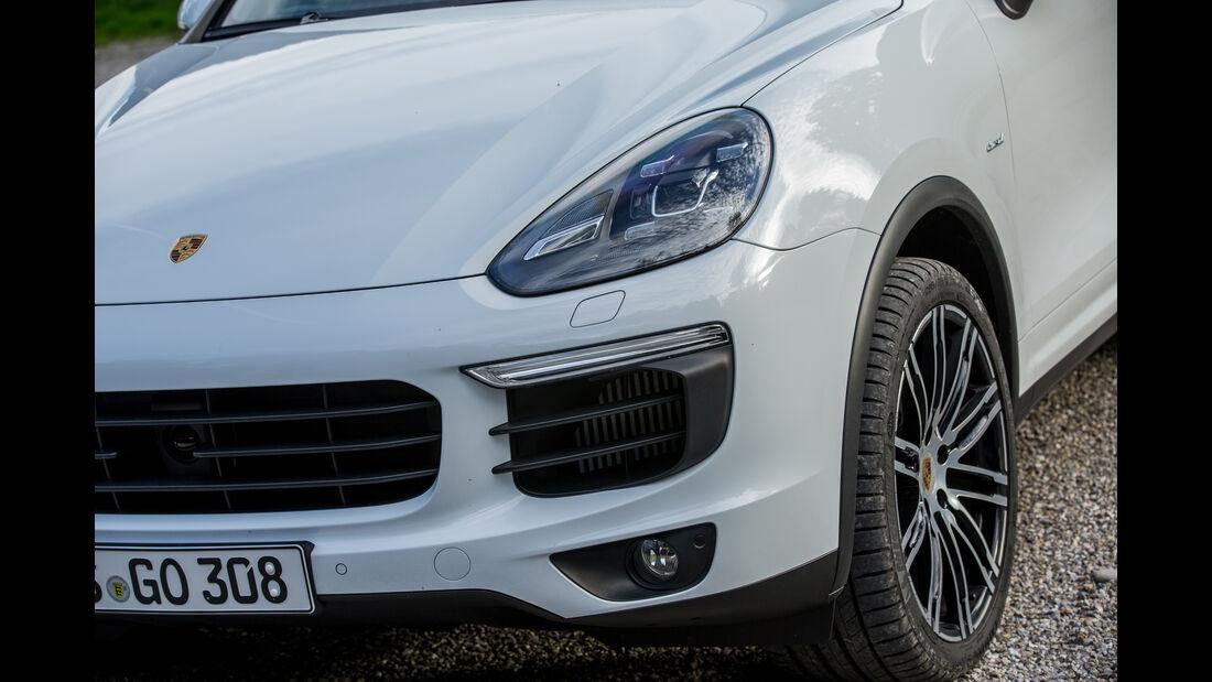 Porsche Cayenne Diesel, Frontscheinwerfer