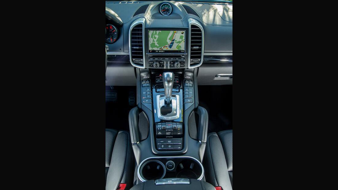 Porsche Cayenne Diesel, Infotainment, Monitor