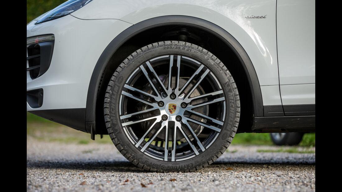 Porsche Cayenne Diesel, Rad, Felge