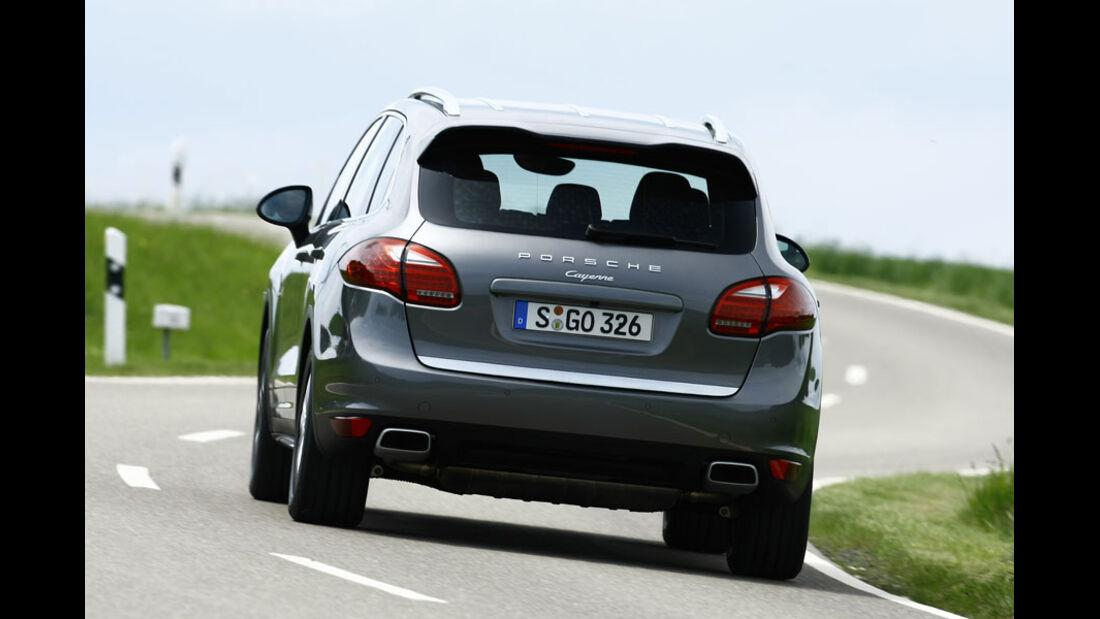 Porsche Cayenne Diesel, Rücklicht