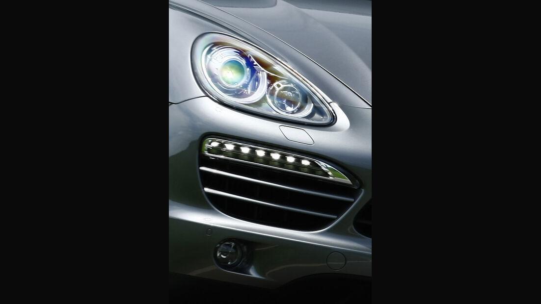 Porsche Cayenne Diesel, Scheinwerfer