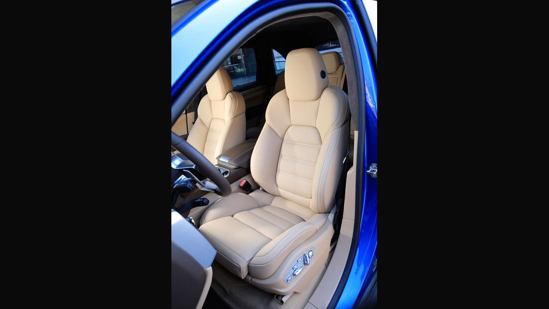 Porsche Cayenne, Fahrersitz