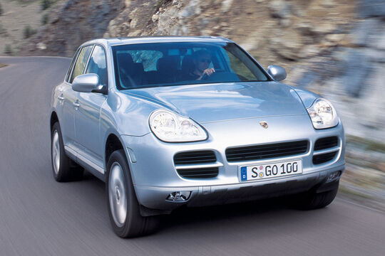 Porsche Cayenne, Frontansicht