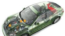 Porsche Cayenne Hybrid, Grafik