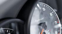 Porsche Cayenne Hybrid, Tacho, Detail