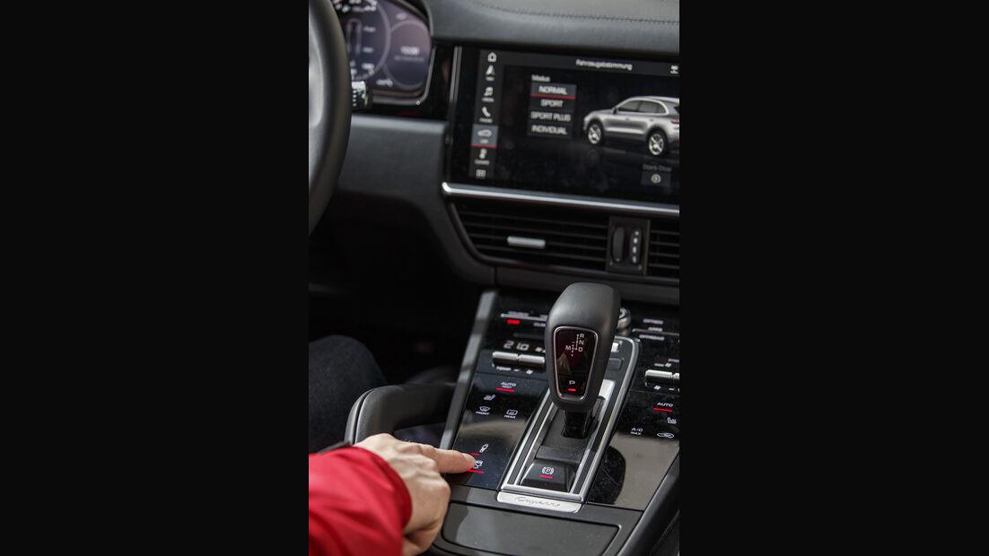 Porsche Cayenne, Interieur
