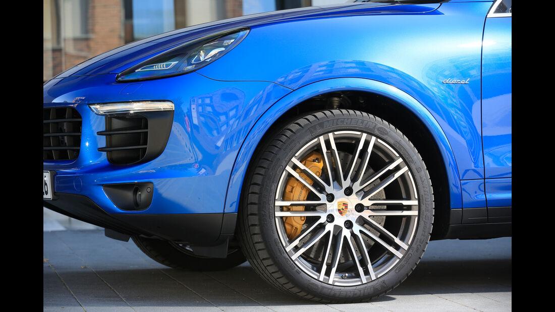 Porsche Cayenne, Rad, Felge