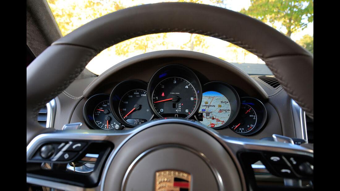 Porsche Cayenne, Rundinstrumente