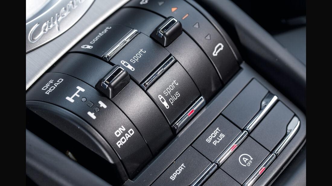 Porsche Cayenne S Diesel, Bedienelemente