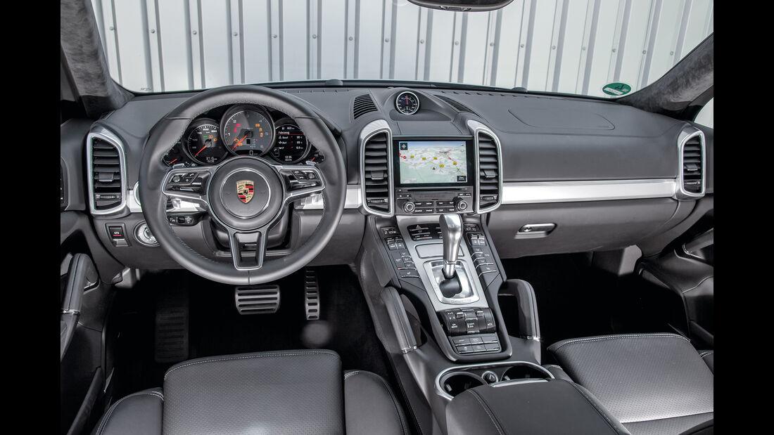 Porsche Cayenne S Diesel, Cockpit