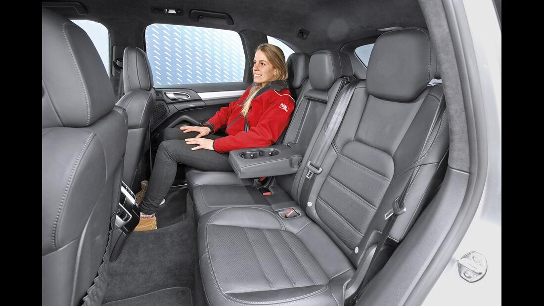 Porsche Cayenne S Diesel, Fondsitz