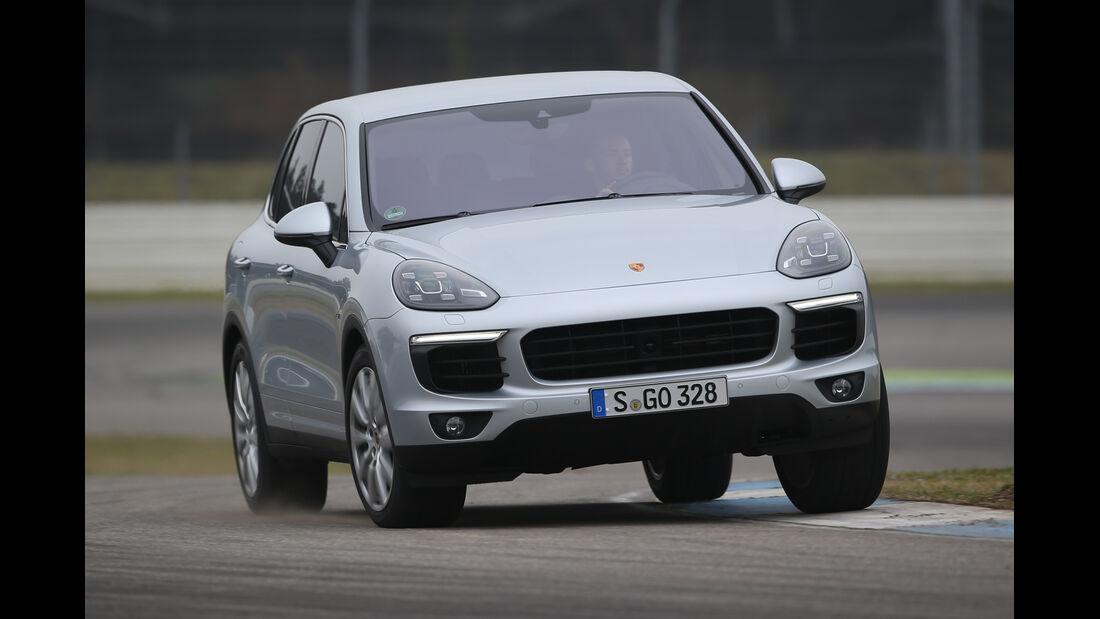 Porsche Cayenne S Diesel, Frontansicht