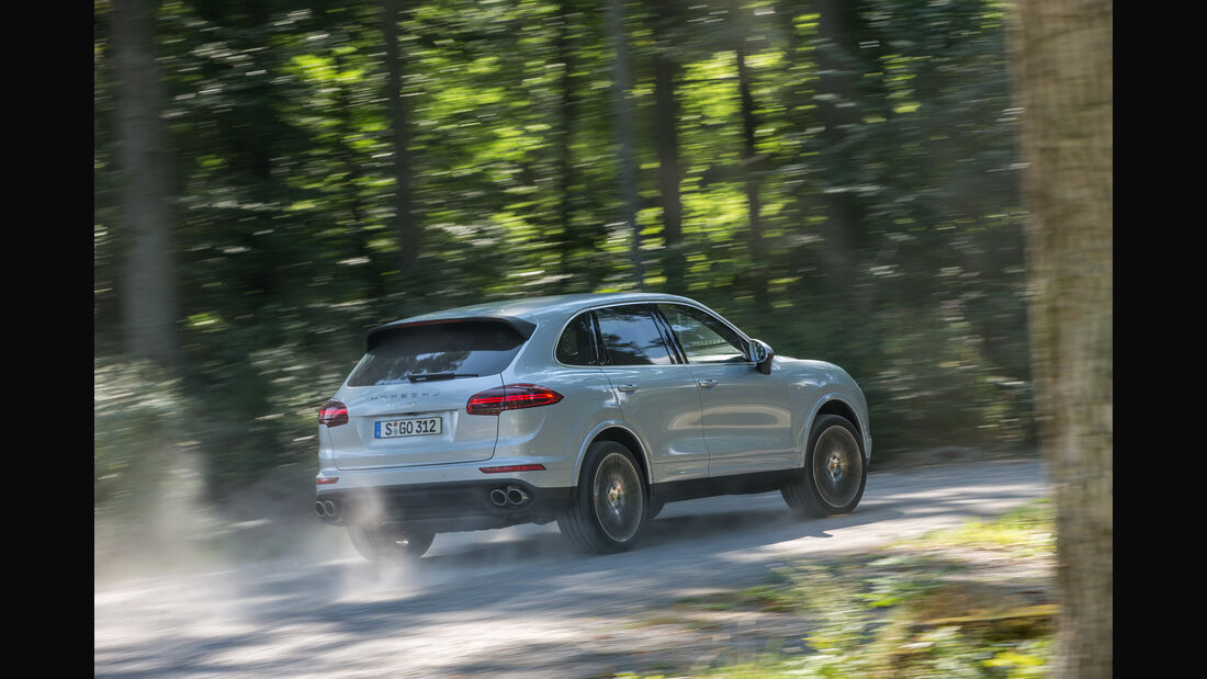 Porsche Cayenne S Diesel, Heckansicht