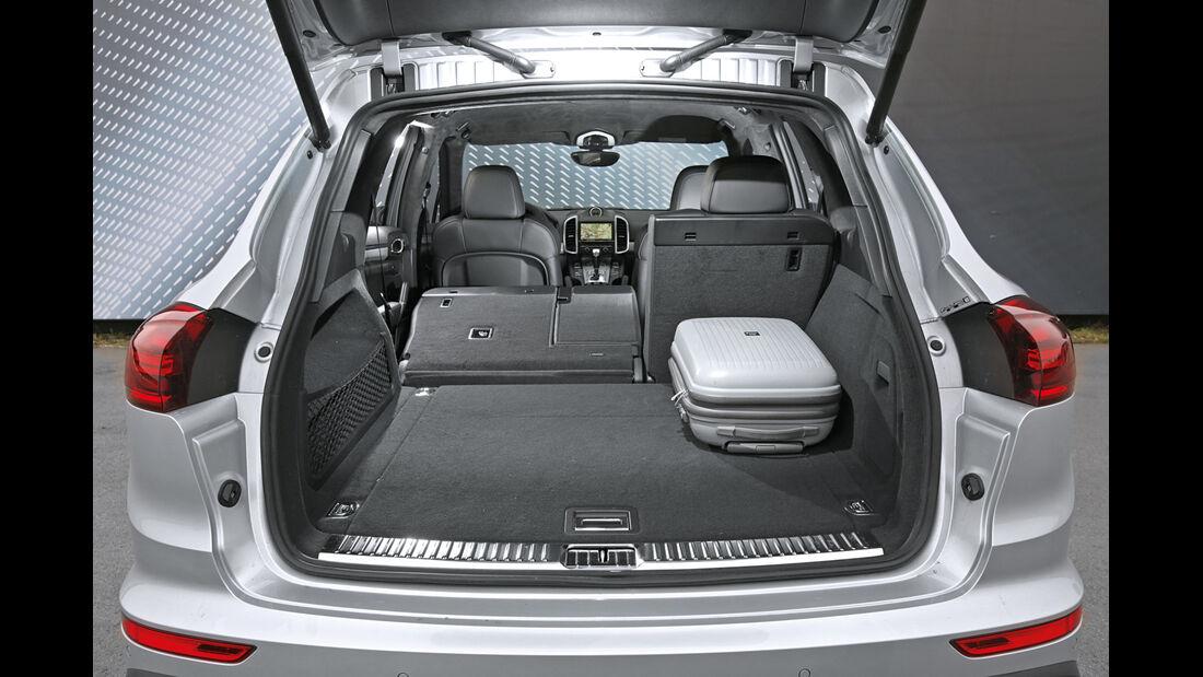 Porsche Cayenne S Diesel, Kofferraum