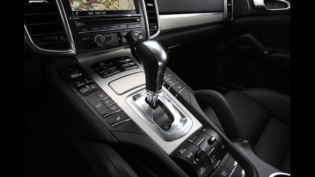 Porsche Cayenne S Diesel, Schalthebel