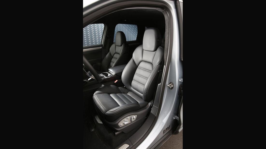 Porsche Cayenne S Diesel, Sitze