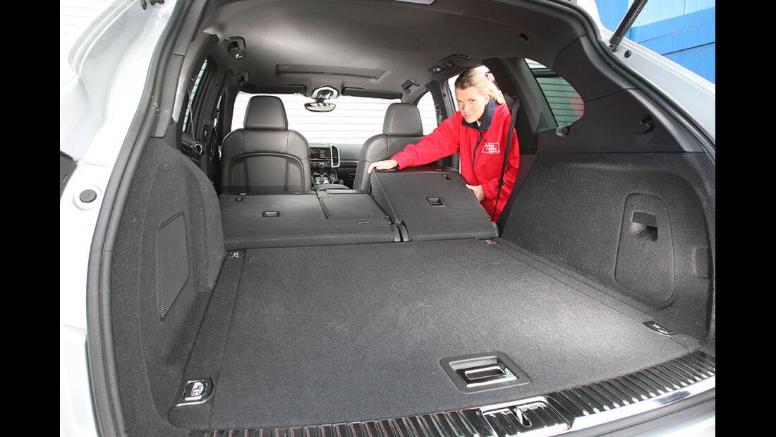 Porsche Cayenne S, Kofferraum