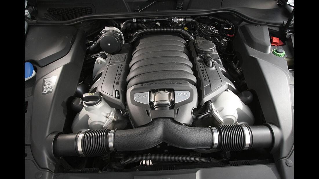 Porsche Cayenne S, Motor