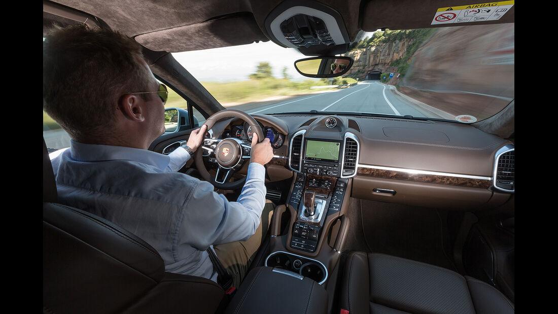 Porsche Cayenne Turbo Fahrbericht