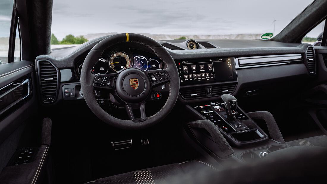Porsche Cayenne Turbo GT, Interieur