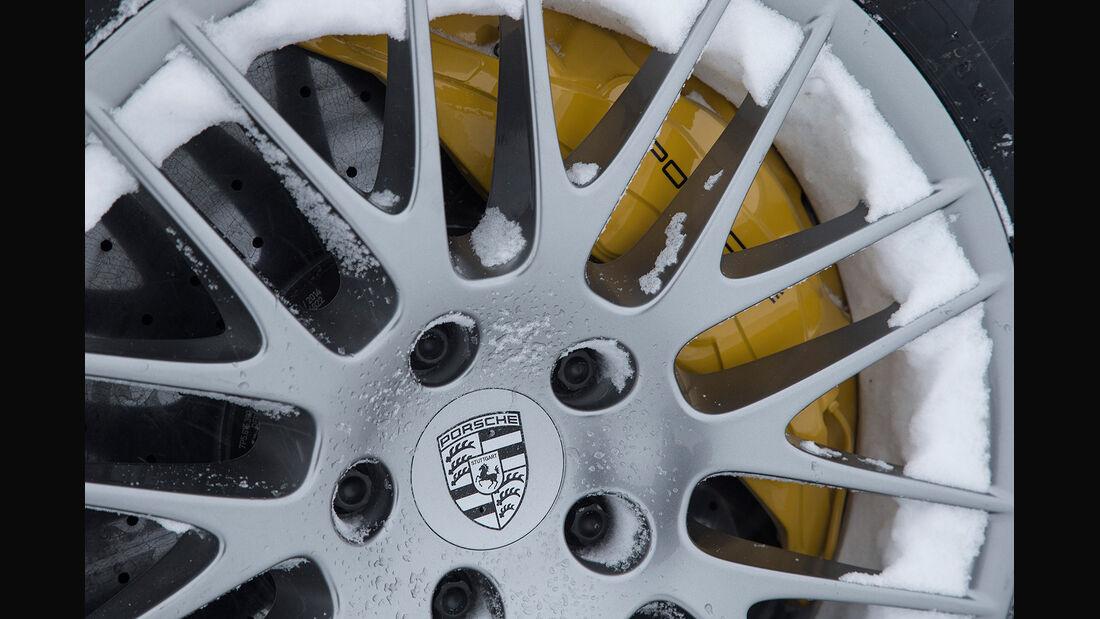 Porsche Cayenne Turbo S 2015, Felgen, Rad, Bremse