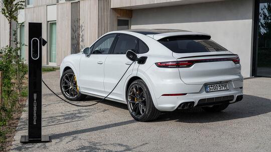 Porsche Cayenne Turbo S E-Hybrid Coupé