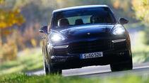 Porsche Cayenne Turbo S, Frontansicht