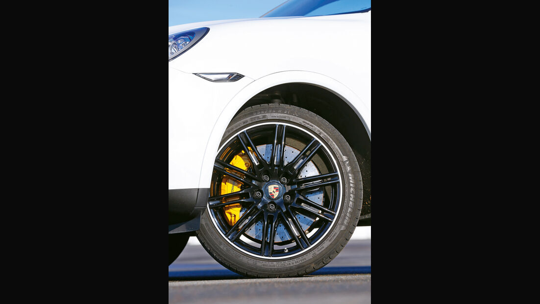 Porsche Cayenne Turbo S, Rad, Felge, Bremse