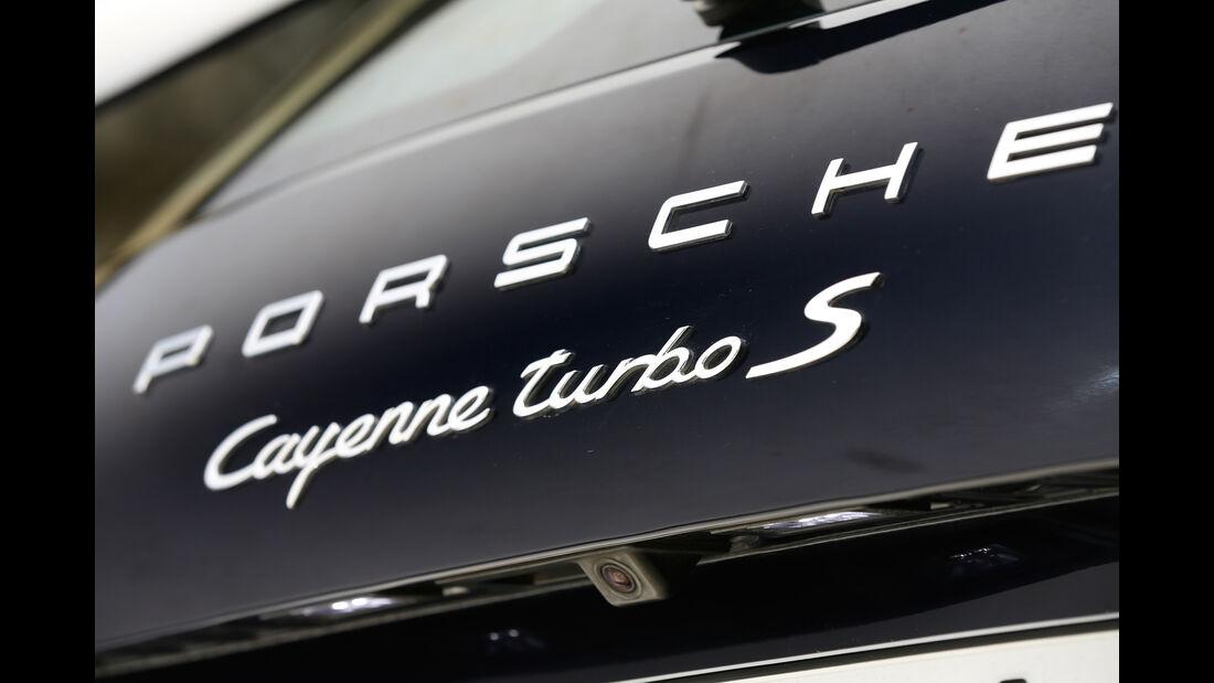 Porsche Cayenne Turbo S, Typenbezeichnung