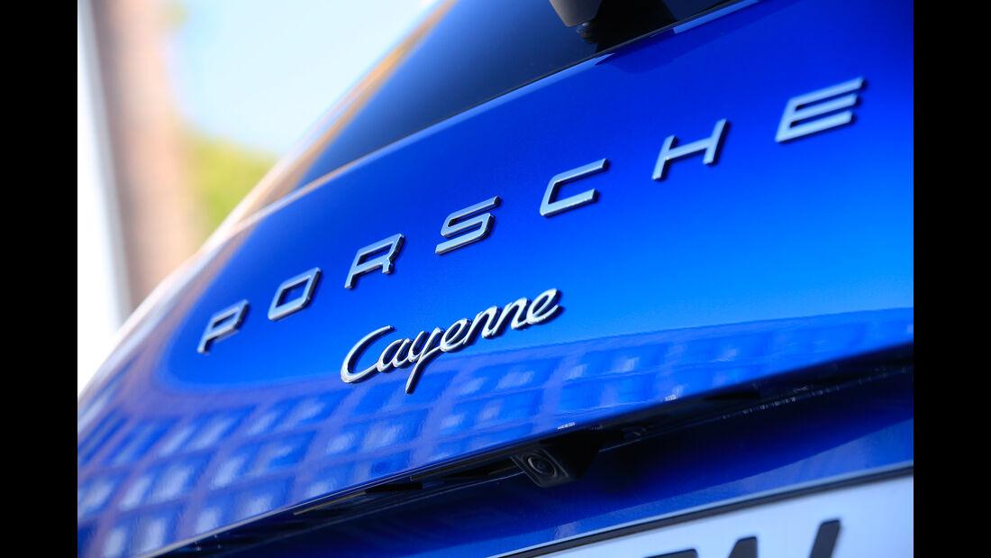 Porsche Cayenne, Typenbezeichnung
