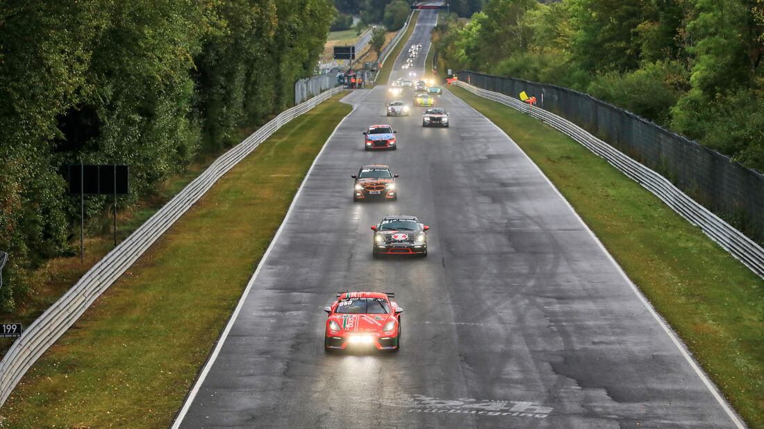 Porsche Cayman 718 GT4 CS - Startnummer 303 - 24h Rennen Nürburgring - Nürburgring-Nordschleife - 27. September 2020