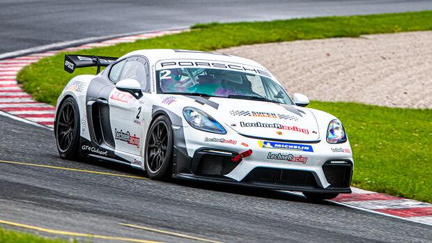 Porsche Cayman 718 GT4 - Lechner Racing - Super Racer 2020