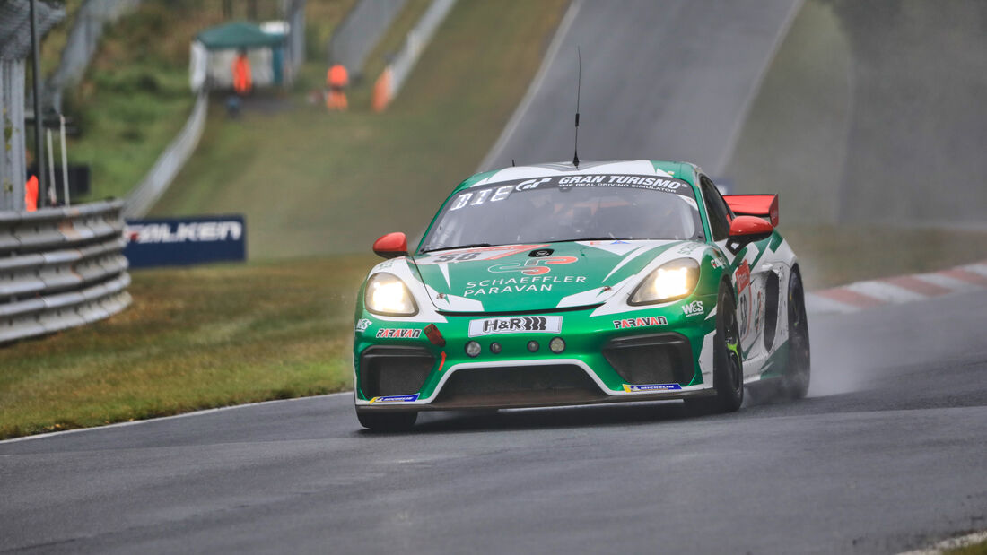 Porsche Cayman 718 GT4 MR - W&S Motorsport GmbH - Startnummer 58 - 24h Rennen Nürburgring - Nürburgring-Nordschleife - 25. September 2020