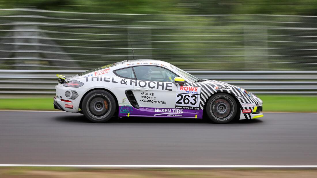 Porsche Cayman 718 GTS - Startnummer #263 - SP4T - NLS 2020 - Langstreckenmeisterschaft - Nürburgring - Nordschleife