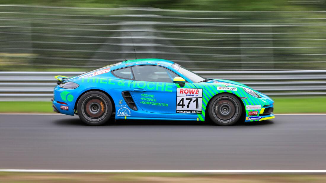 Porsche Cayman 718 GTS - Startnummer #471 - VT3 - NLS 2020 - Langstreckenmeisterschaft - Nürburgring - Nordschleife