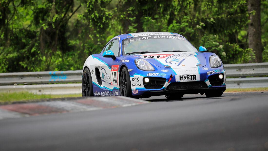 Porsche Cayman 981 - Adrenalin Motorsport Team Alzner Automotive - Startnummer #141 - Klasse: V 5 - 24h-Rennen - Nürburgring - Nordschleife - 03. - 06. Juni 2021